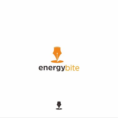 energy bite logo concept