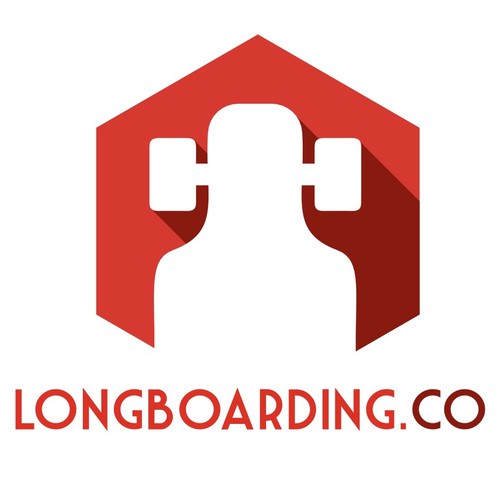 Logo concept for longboarding.co