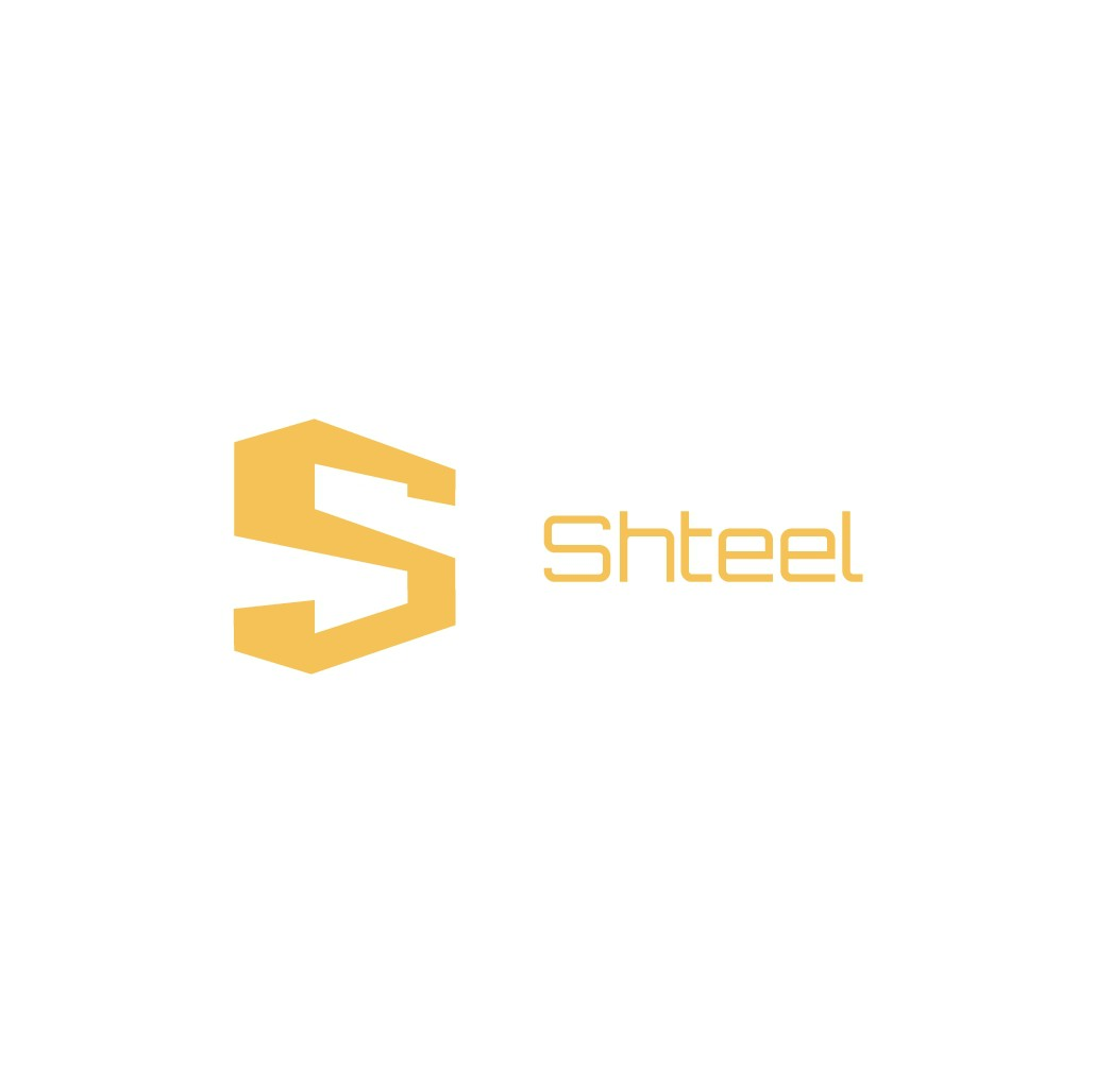 Logo for Shteel - a software package like Adobe Creative Cloud or Microsoft Office