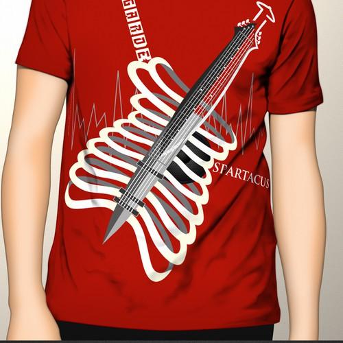 T-shirt design for street wear / skate wear clothing line.
