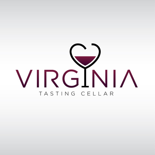 Logo concept for a Wine Tasting Room