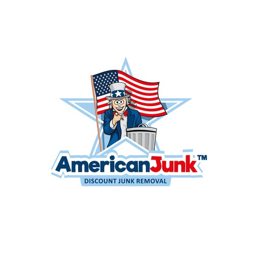 Logo concept for a Junk Removal services company.