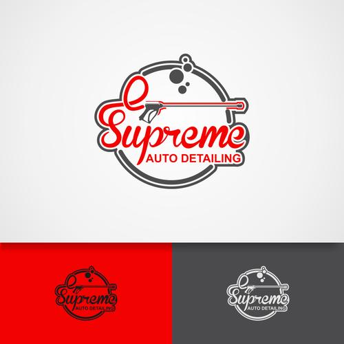 Car washing logo