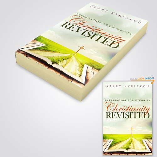"Book cover concept of ""Christianity Revisited"""