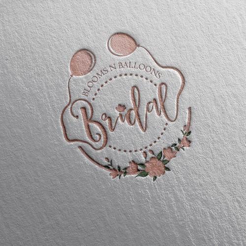 floral/ balloon company needs eye popping logo