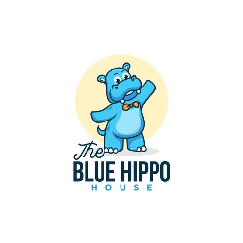 The BLUE HIPPO House