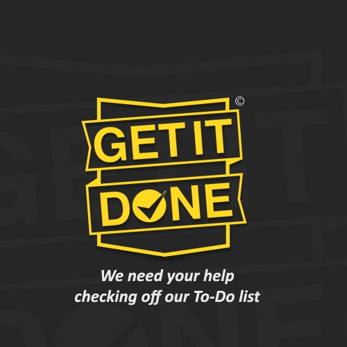 We need your help checking off our To-Do list