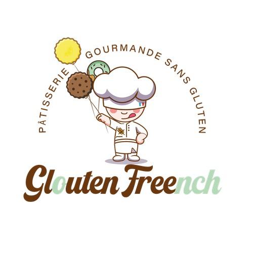 Logo attractif pour une pâtisserie sans gluten