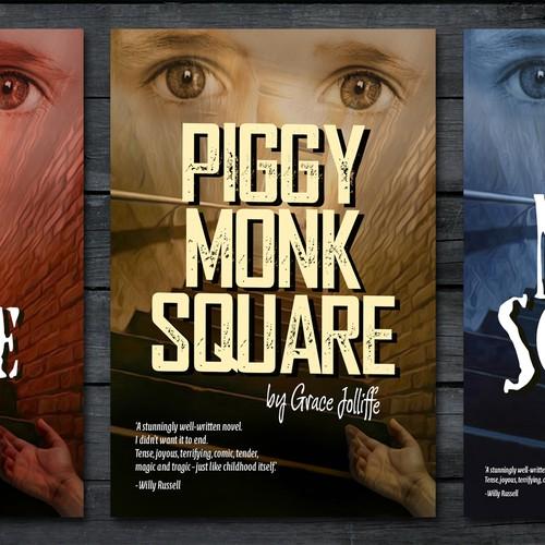 Piggy Monk Square book covers