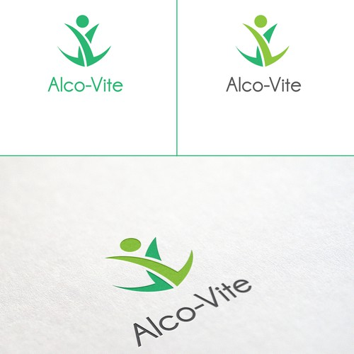 Vitamin Supplement Logo - For Alcohol Use Disorders