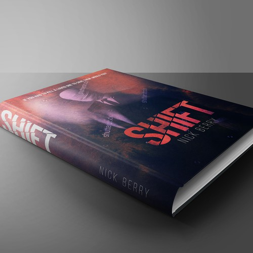 Book cover for dark thriller
