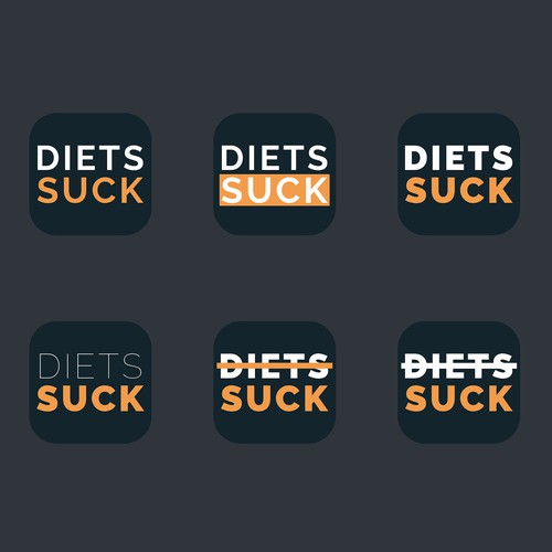 Diets Suck App Icon