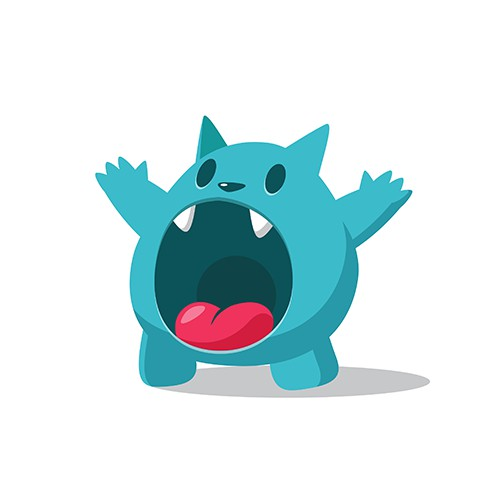 Mascot for sharing app