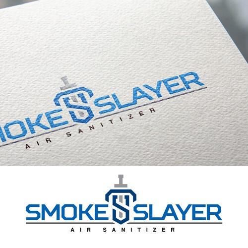 geometric logo for Smoke Slayer