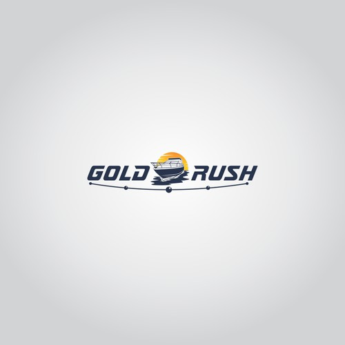 Logo concept for Gold Rush