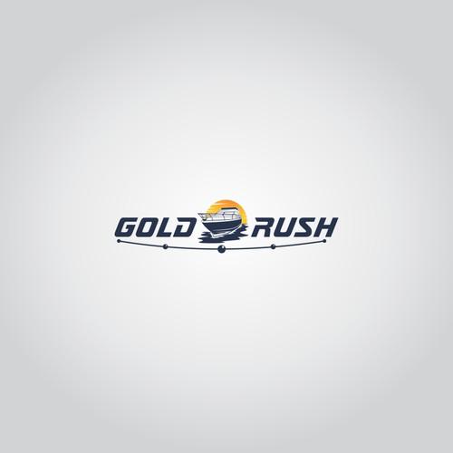 Logo concept for Gold Rush