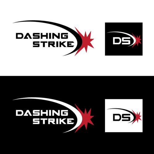 Create a logo for indie game developer Dashing Strike