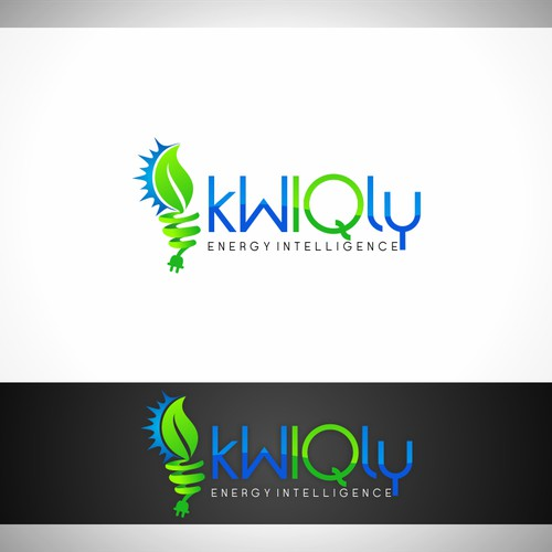 kWIQly  - Logo for an energetic intelligent and fast cleantech service