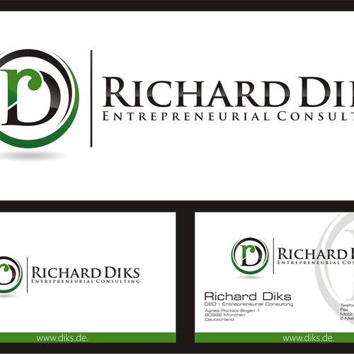 logo für Richard Diks | Entrepreneurial Consulting