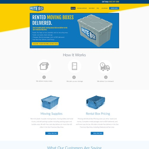 Brutebox Website Page