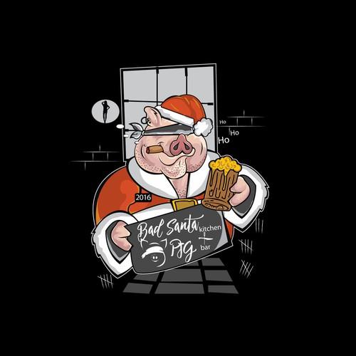 Bad Santa in Prison