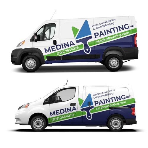 Medina Painting Wrap