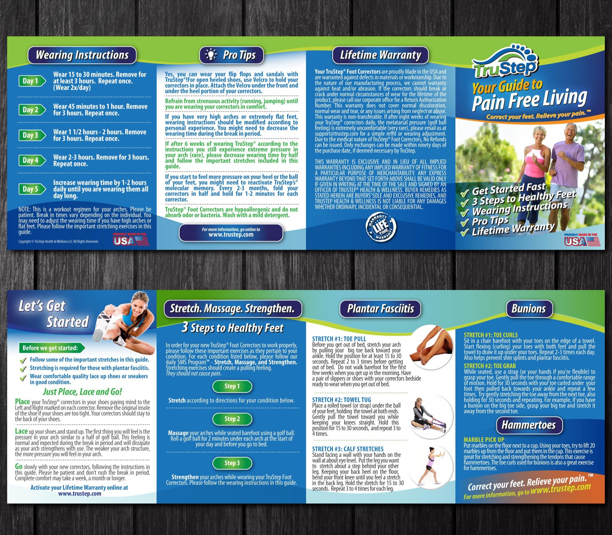Create a High Impact Brochure for TruStep