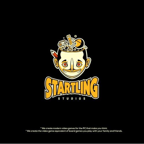 Logo design for Game studio.