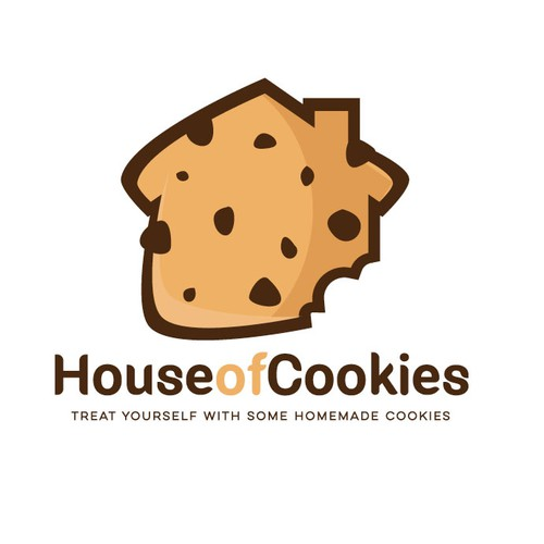 House of Cookies Logo Design