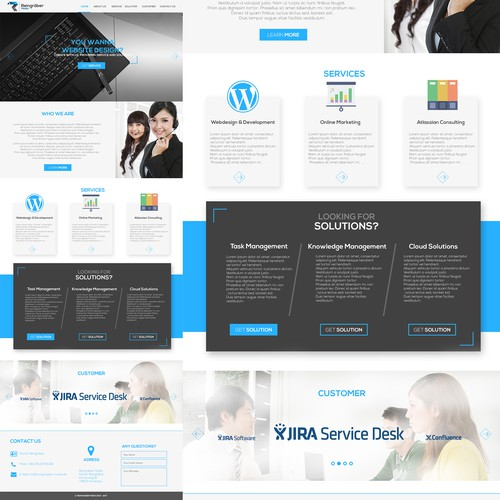 Business Consulting Modern Web Design