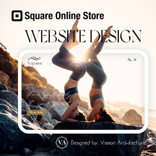 SQUARE ONLINE STORE | Design for Yogame