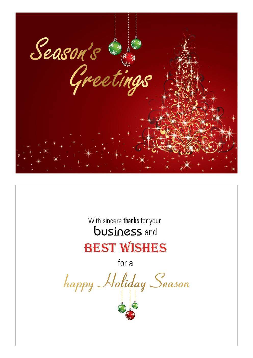 Holiday greeting cards -  Will award upto 15 winners!