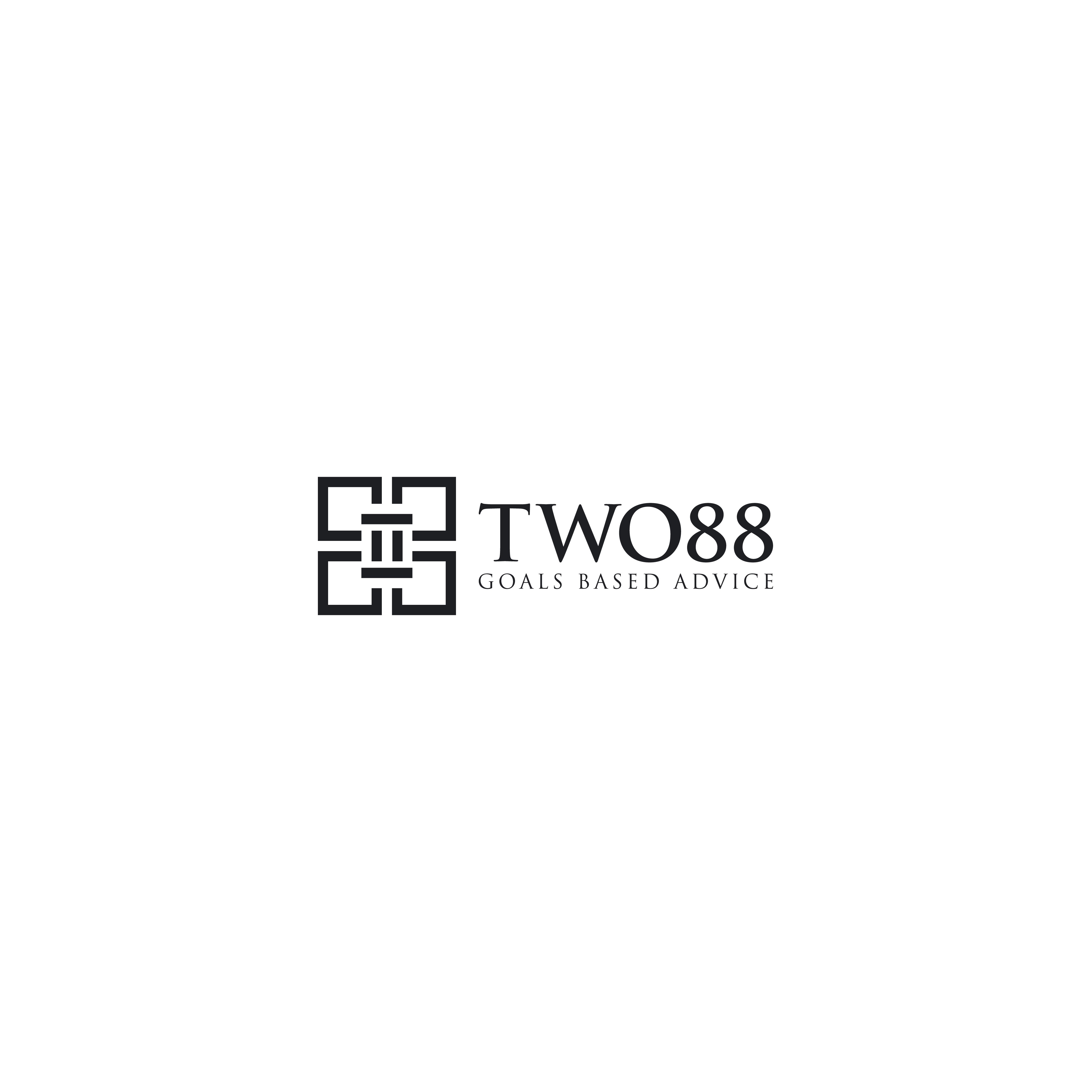 Design a premium, fresh and modern branding for TWO88 Pty Ltd, a Financial Services Company