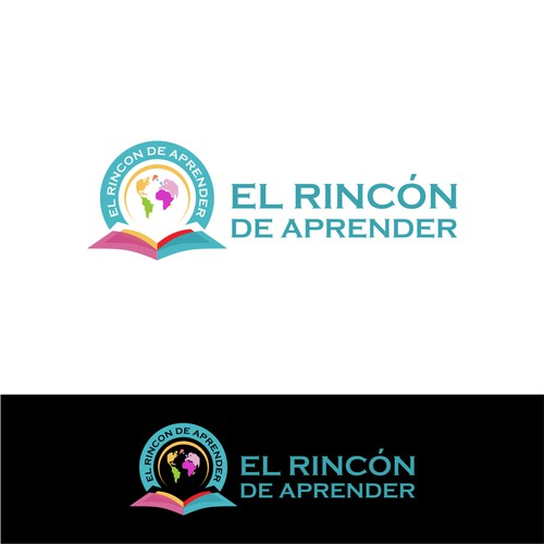 Logo for education. 'El rincón de aprender' needs you!