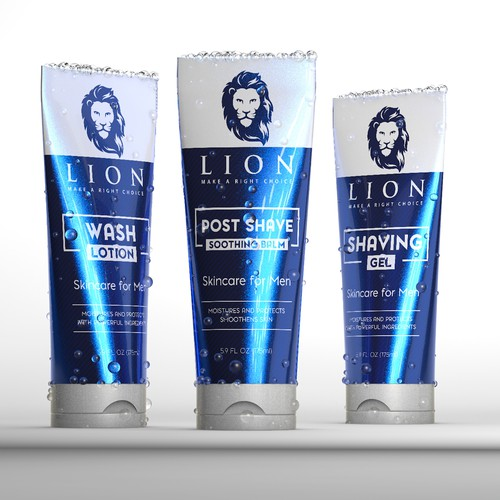 Luxury package design concept for Lion