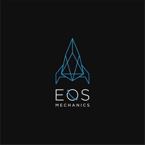 Technical logo for EOS Mechanics