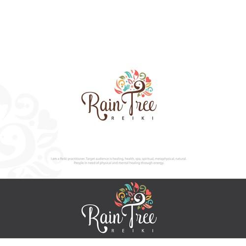 Colorful Logo For Reiki Practitioner
