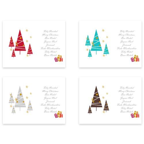 Christmas Cards for Aldeas Infantiles