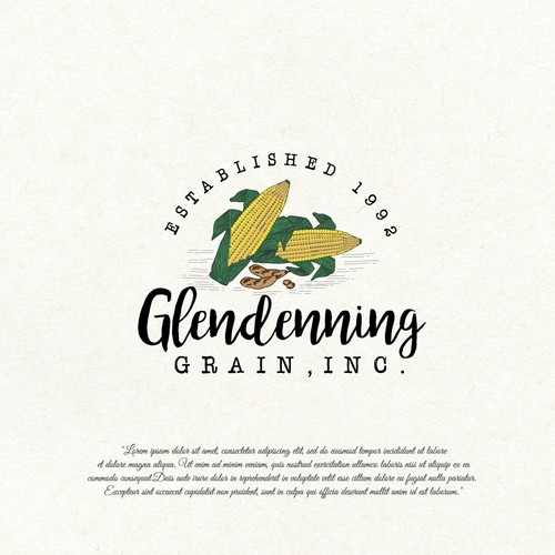 Logo design for agriculture business