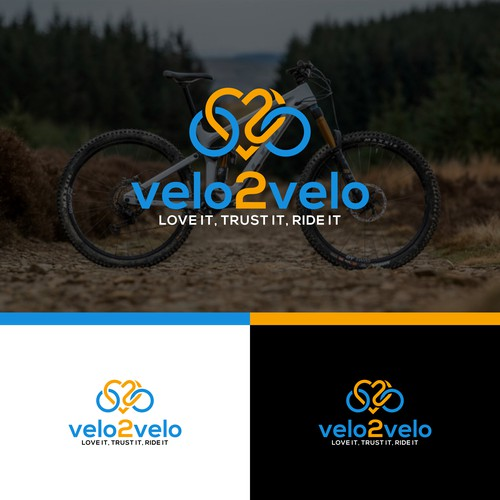 logo for attractive and descriptive for our new c2c bike sales company