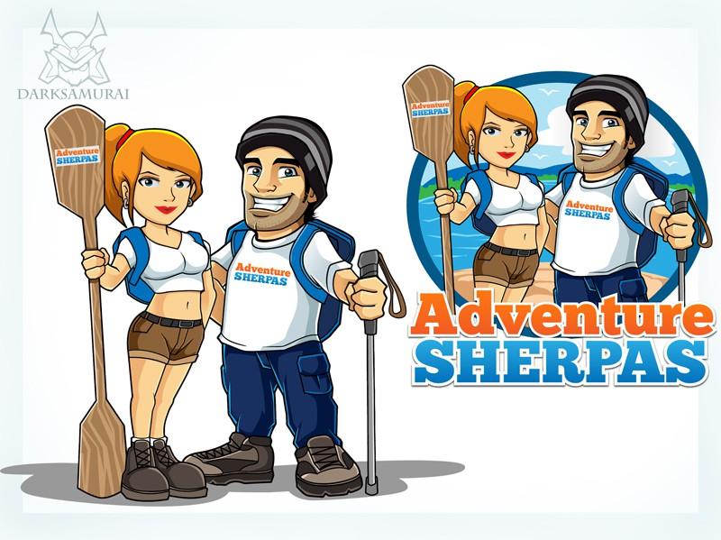 Create the next logo for Adventure Sherpas
