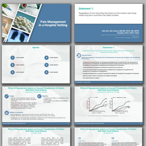 PPT Template for Top Doctors Presentation