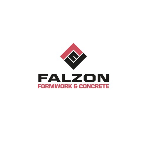Logo for formwork and concrete construction company