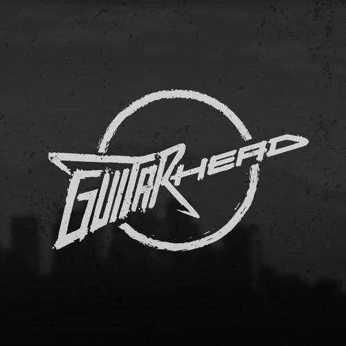 GuitarHead logo concept