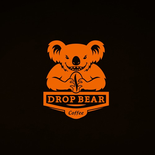 Coffee Roasting Branding DROP BEAR COFFEE