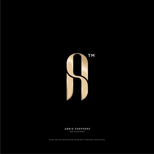 luxury simple modern logo design