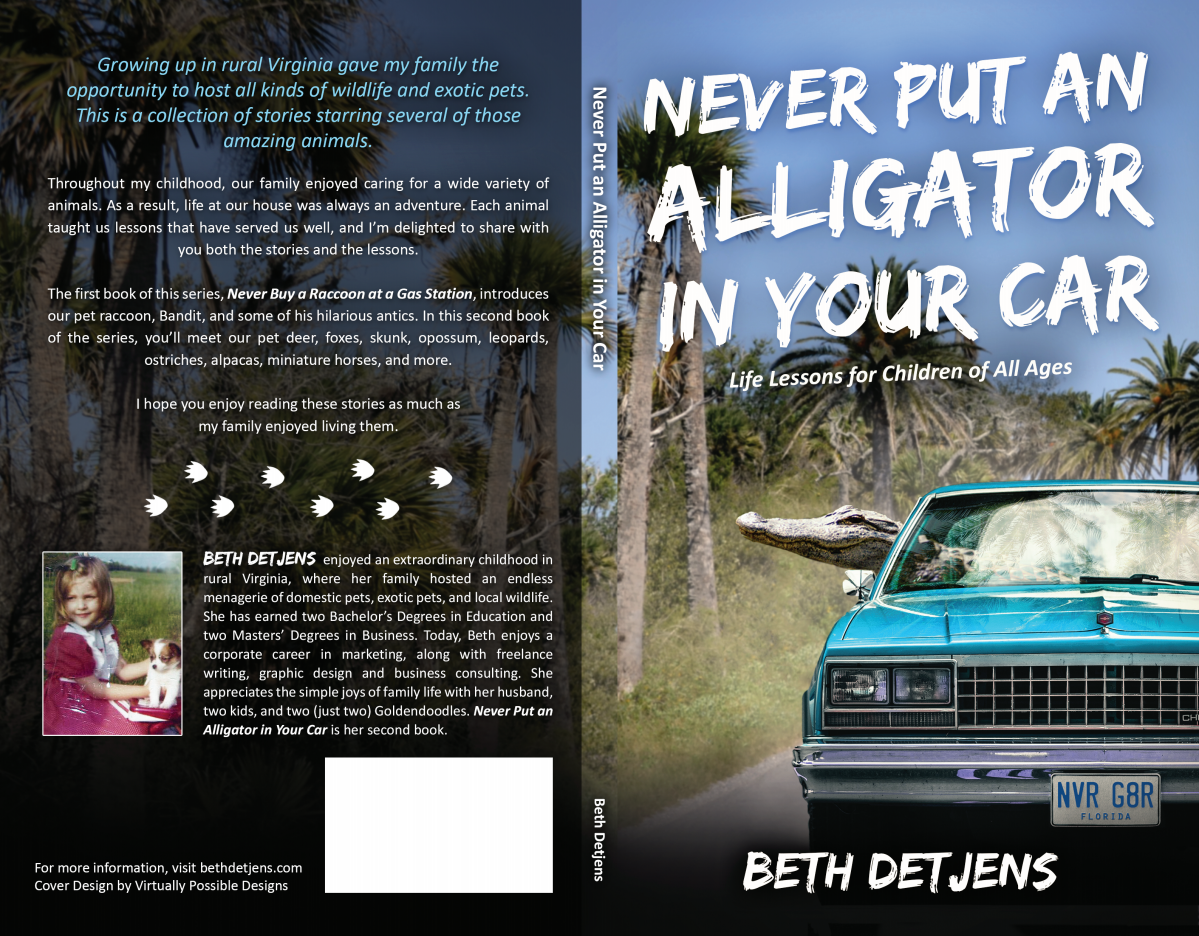 Book cover design for a childrens/young adult book about a variety of unusual pets