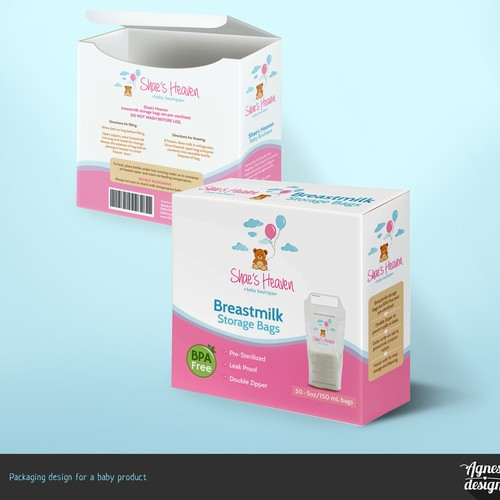 Packaging for a baby product
