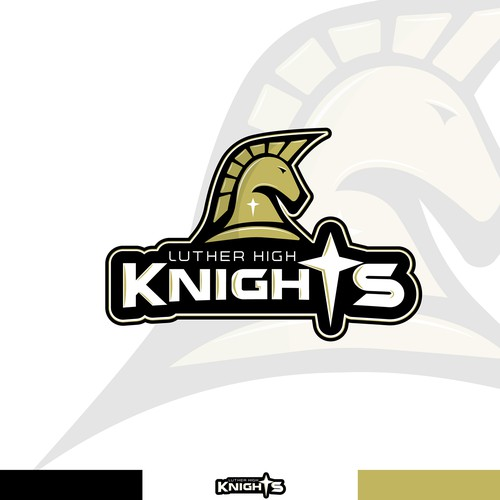 High School Knight Concept