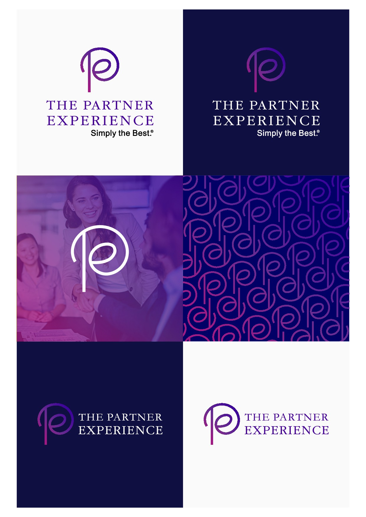 """We need an amazing logo to launch our new initiative, """"The Partner Experience"""""""